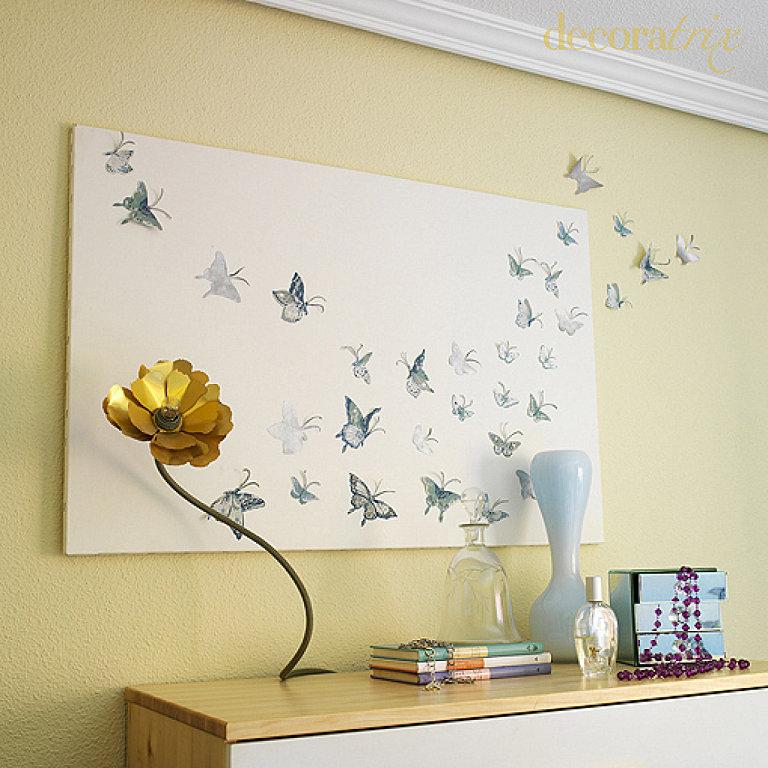 Ideas facil simas para decorar por menos de 50 c ntimos for Ideas faciles para decorar el hogar