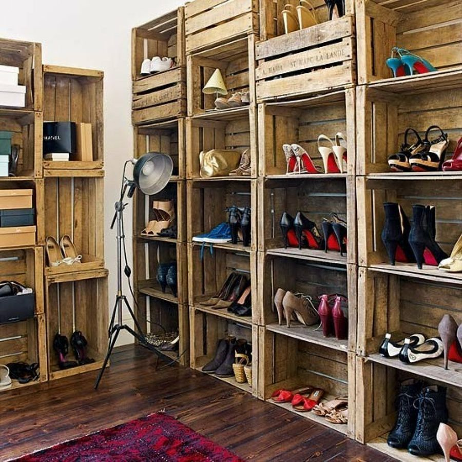 Como Hacer Mueble Para Guardar Zapatos Facilisimo Com # Muebles Para Ropa