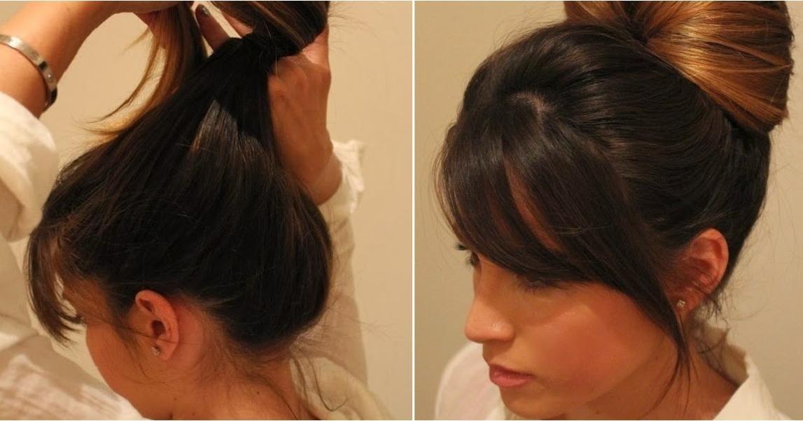 Tutorial peinado: recogido elegante en sencillos pasos