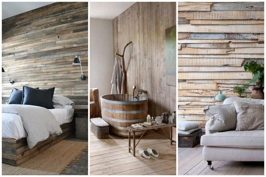 Revestir paredes con palets for Pared con palets