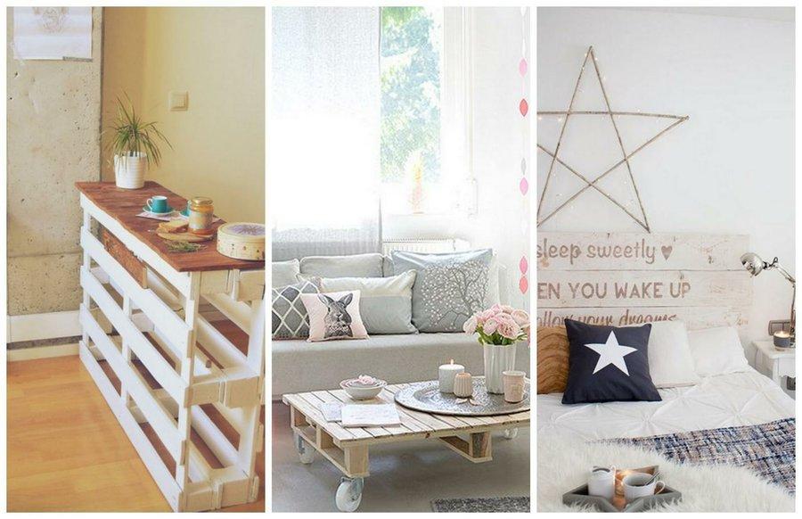 ms de ideas que demuestran que se puede decorar la casa entera con palets