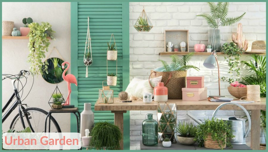 ideas para conseguir el estilo urban garden en tu hogar decoraci n. Black Bedroom Furniture Sets. Home Design Ideas