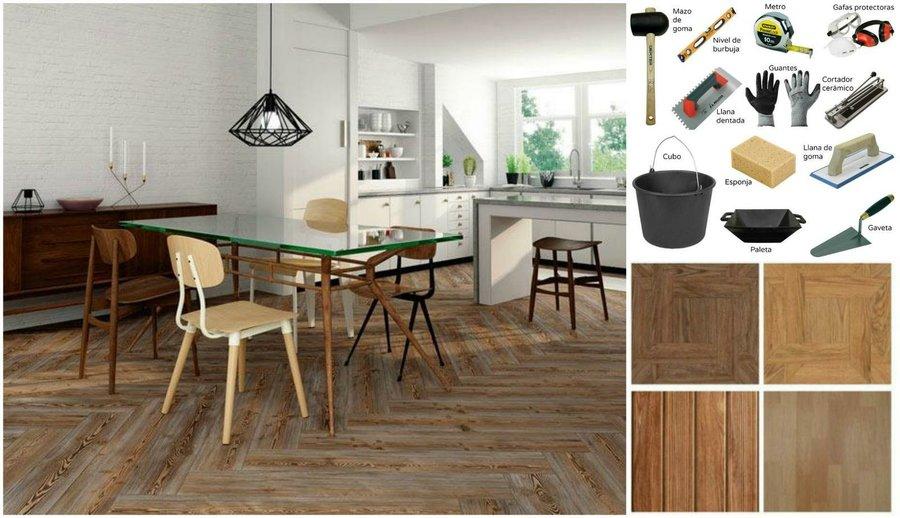 cambia el suelo de casa por la opcin ms resistente y de tendencia la cermica