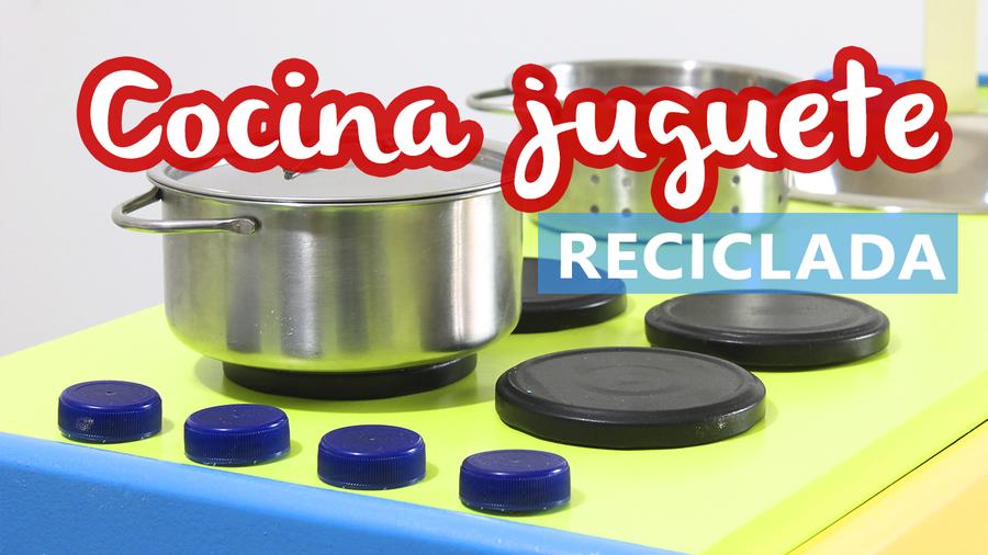 C mo hacer una cocina de juguete reciclando bricolaje - Cocinas hechas a mano ...