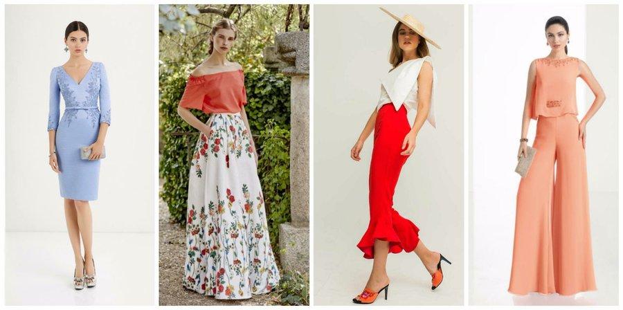 Looks de invitada propuestas para ir de boda bodas for Boda en jardin como vestir