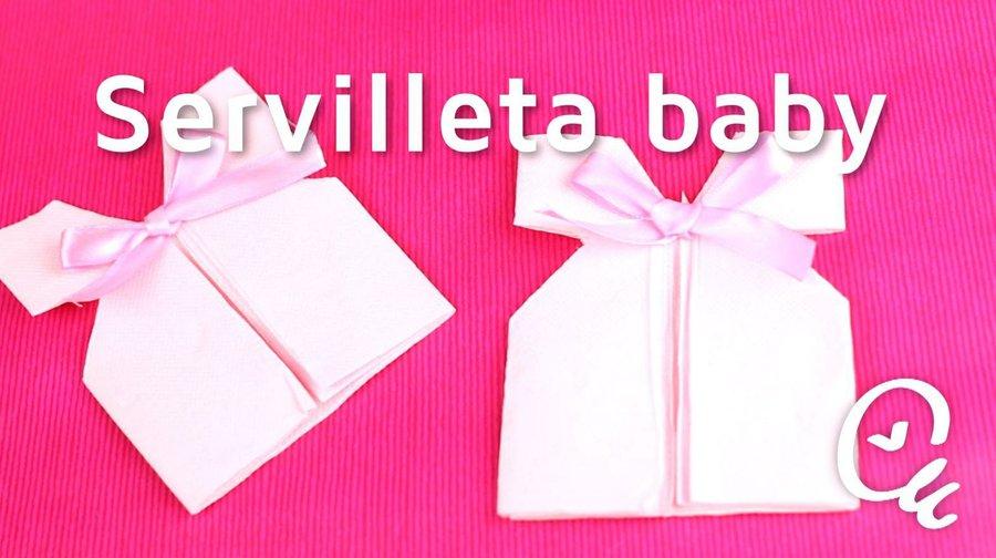 Cómo Hacer Detalles Decorativos Para Baby Shower Con Servilletas |  Manualidades
