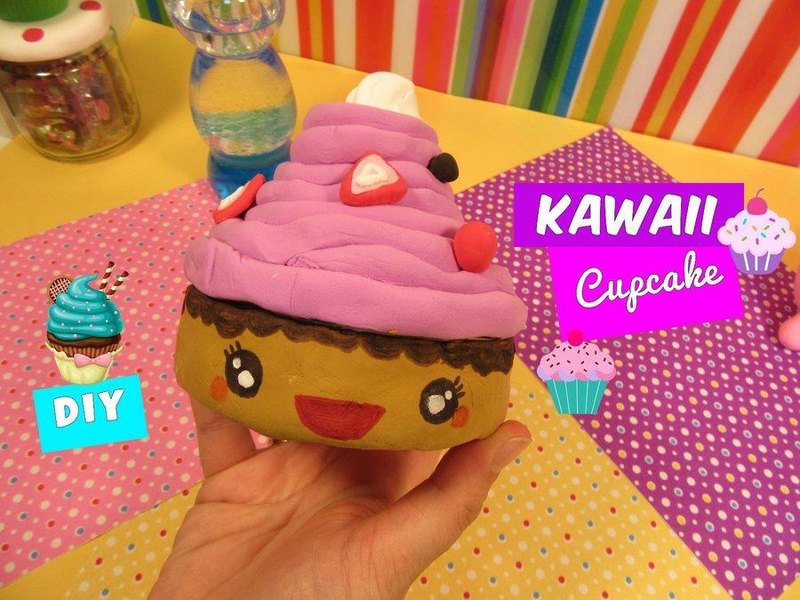 Manualidades f ciles reciclando kawaii cupcake manualidades Manualidades para la casa faciles