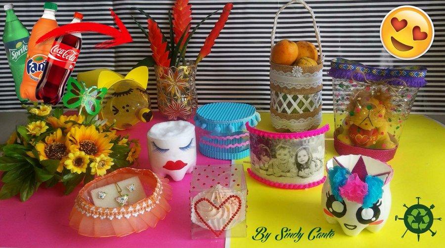 Campanas navide as con botellas pl sticas diy manualidades for Materiales para manualidades navidenas