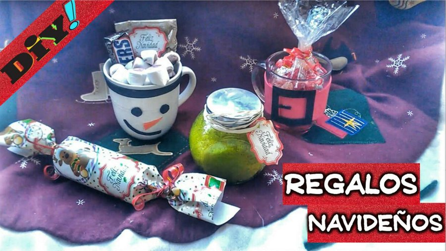 Ideas de manualidades for Regalos navidenos caseros