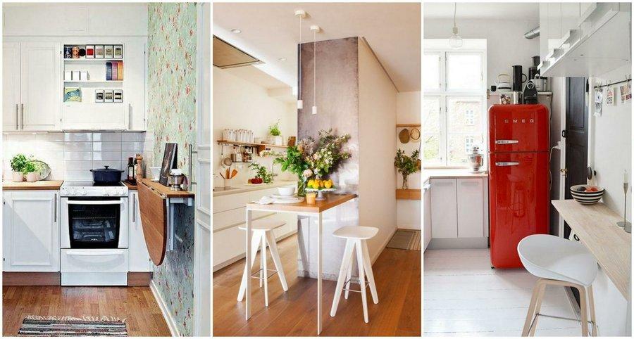 Consigue el office de tus sue os incluso si tu cocina es - Decoracion cocina pequena apartamento ...