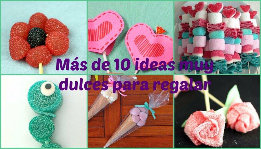 Ideas de manualidades - Manualidades con gominolas ...