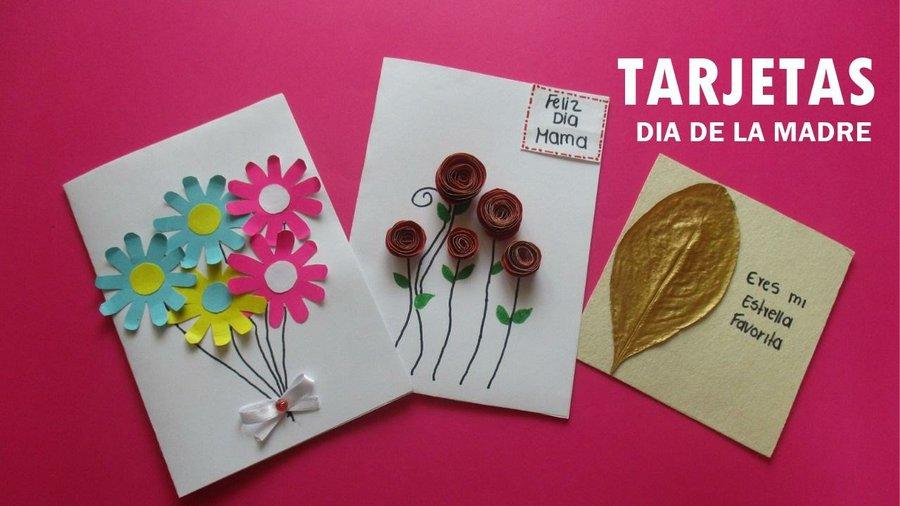3 ideas de tarjetas para el d a de la madre f ciles y for Ideas para mama