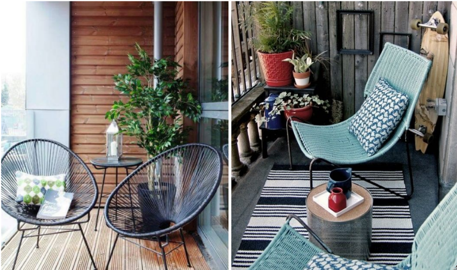 Como decorar una terraza pequena for Ideas para decorar terrazas y balcones