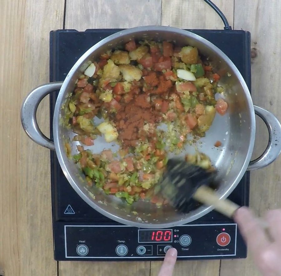 C mo preparar marmitaco de bonito paso a paso cocina for 3 cocinar un huevo sin fuego