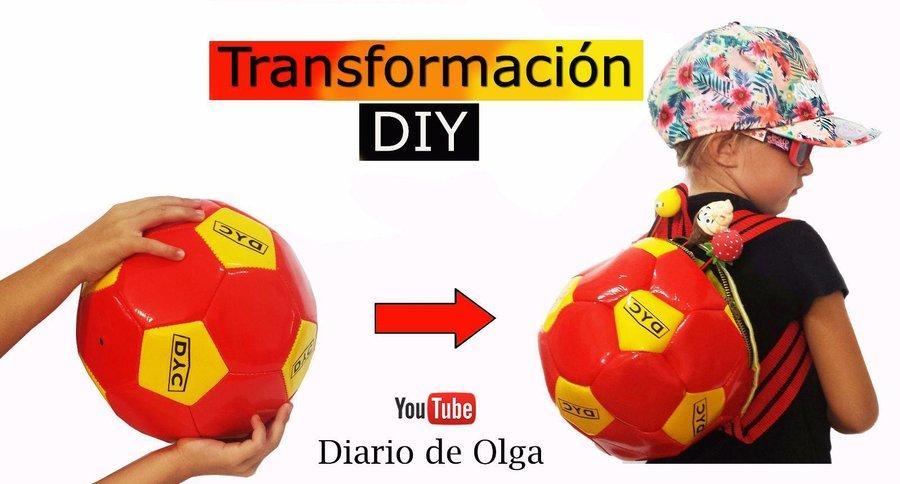 Recicla tu vieja pelota o balón. ¡INSPÍRATE!! | Manualidades
