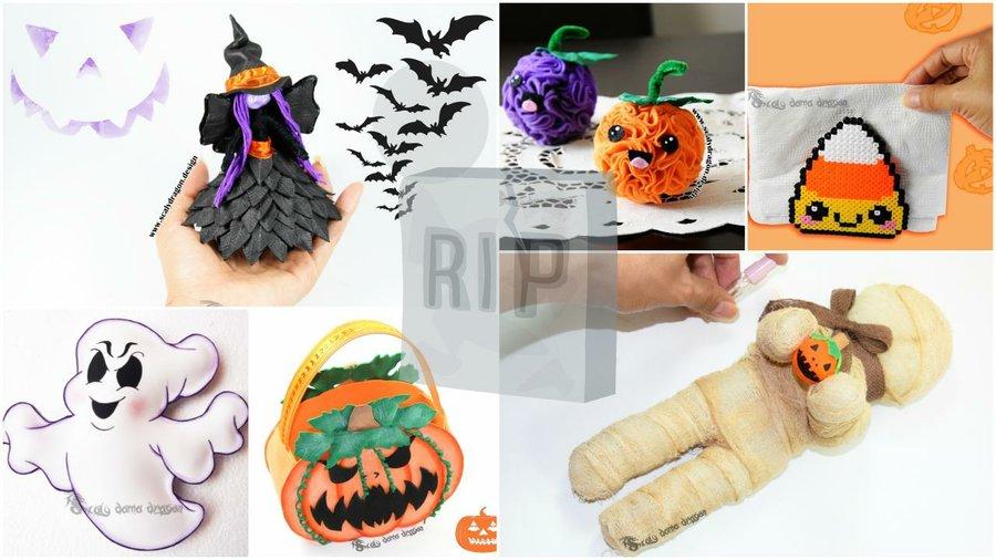 6 DIY súper fáciles para Halloween | Manualidades
