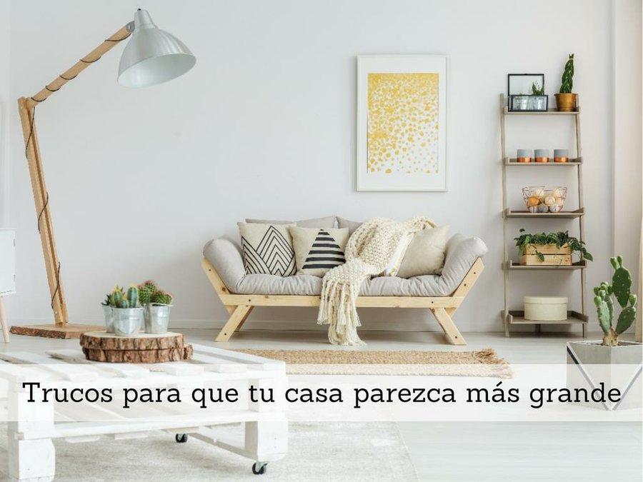 Truco para que el pasillo parezca m s amplio decoraci n - Como pintar un dormitorio para que parezca mas grande ...