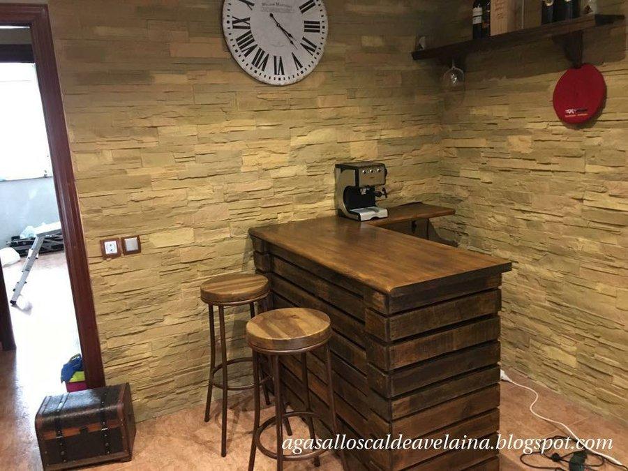 Dos opciones para tener tu propia barra de bar en casa bricolaje - Barra de bar salon ...