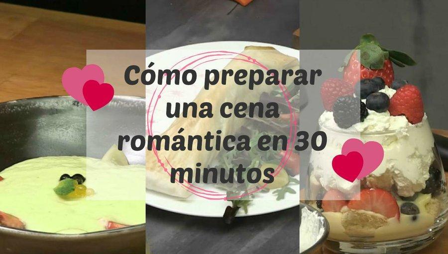 C mo preparar una cena rom ntica en 30 minutos cocina for Como hacer una cena