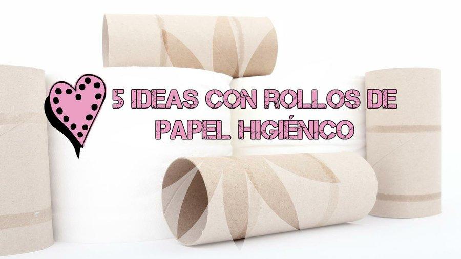 Flores reciclando papel peri dico y rollos papel higi nico - Decoracion con carton de papel higienico ...