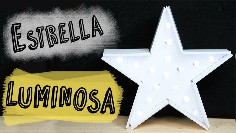 C mo hacer una estrella luminosa para decorar en navidad - Como hacer estrellas de navidad ...