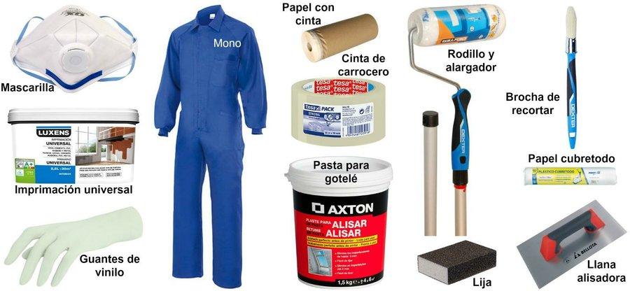 Antes de pintar prepara bien tus paredes bricolaje - Alargador leroy merlin ...