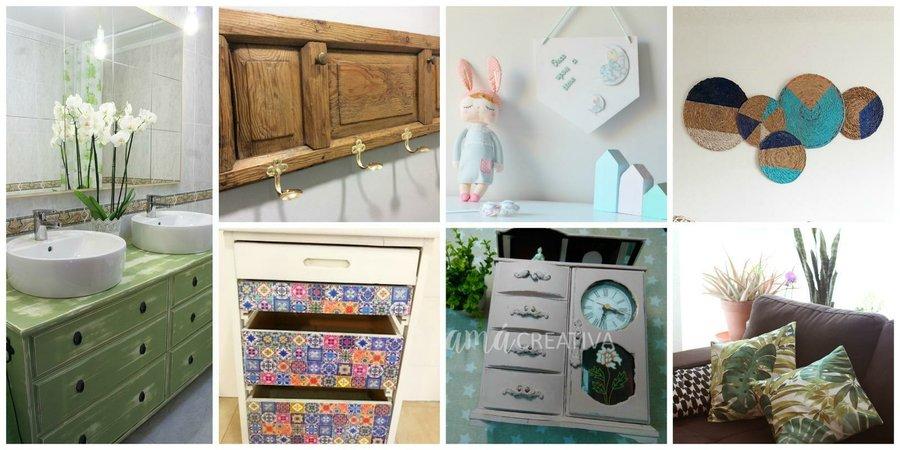 comenzamos con esta magnfica idea del blog mimo de mami nos ensea a tunear un mueble viejo imitando a las baldosas hidrulicas que se han puesto tan de