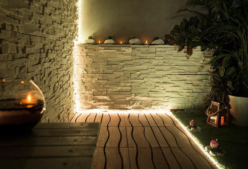 Disfruta de tu jard n o terraza gracias a una buena Iluminacion para jardines energia solar