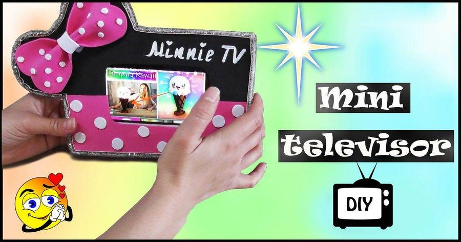 Mini Tv para tu movil? ¡Toma nota! | Manualidades