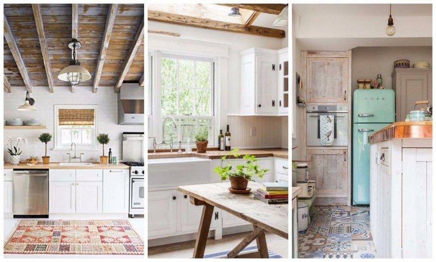 30 cocinas que se integran en el sal n decoraci n - Conforama armarios de cocina ...
