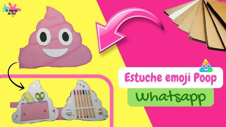 Estuche de emojis- DIY fáciles para el regreso de las clases con ...