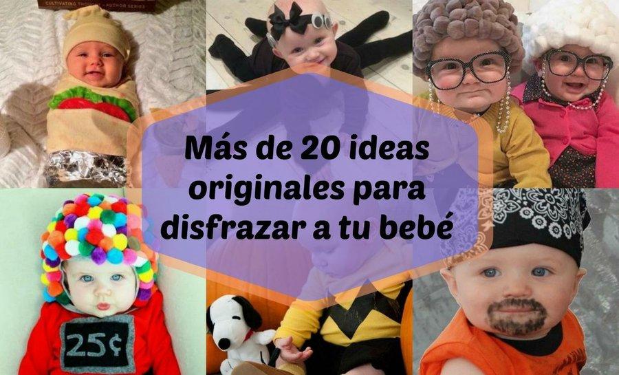 Más de 20 ideas originales para disfrazar a tu bebé | Manualidades