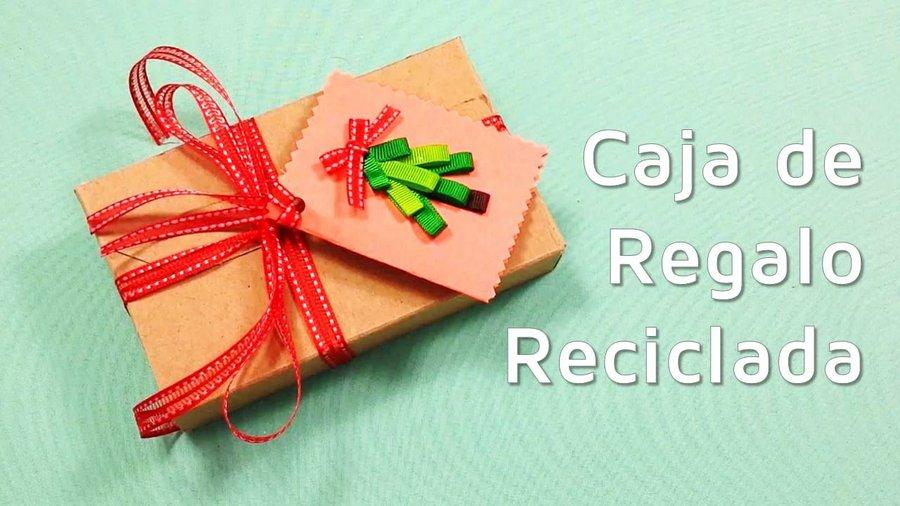 haz bonitas cajas de regalo reciclando cartn