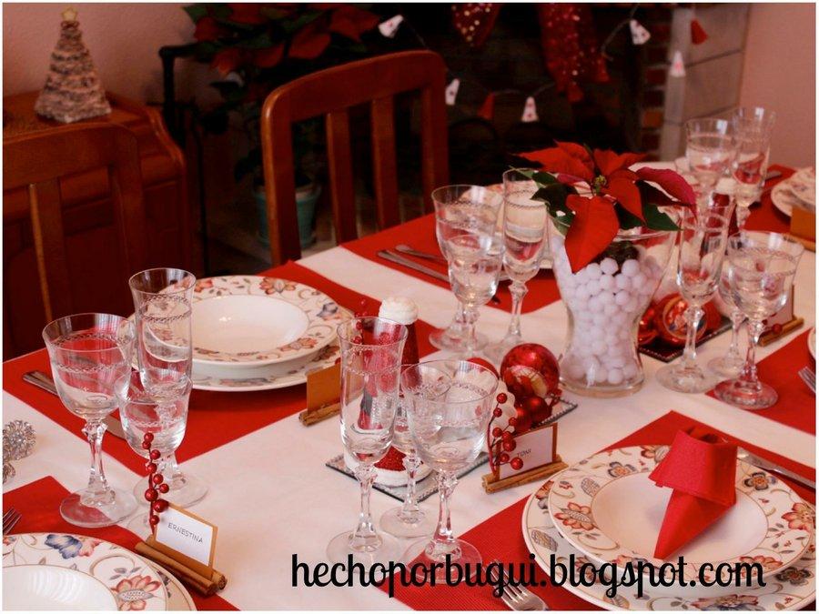 7 diy para preparar la mejor mesa de navidad manualidades Preparar mesa de navidad