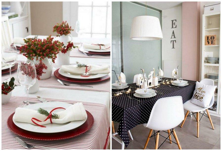Qu hacer y qu no hacer al decorar la mesa en fin de a o - Decoracion fin de ano ...
