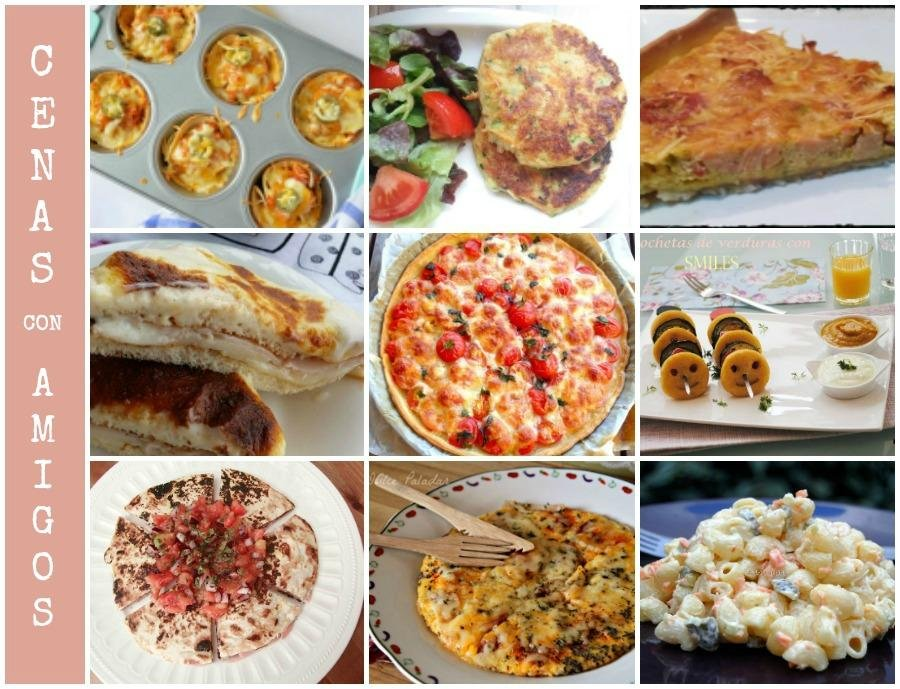 9 cenas r pidas para una velada con amigos cocina for Ideas menu cena amigos