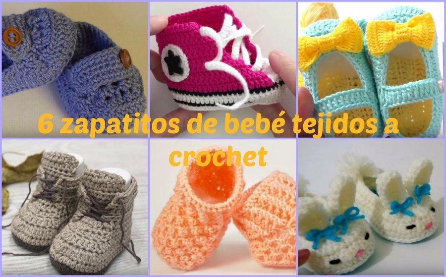 Cómo hacer zapatos de bebé a crochet para el verano | Manualidades