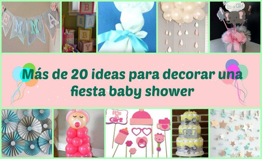 por eso para que no tengas ningn problema te proponemos ms de ideas para decorar una fiesta de baby shower no te las pierdas