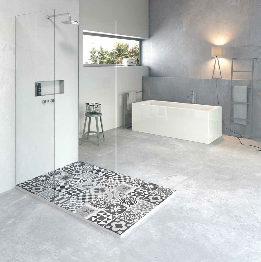 Los platos de ducha tambi n pueden decorar decoraci n - Platos de ducha diseno ...