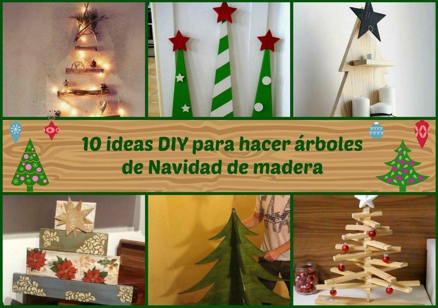 Arbol de navidad de madera - Arboles de navidad de madera ...