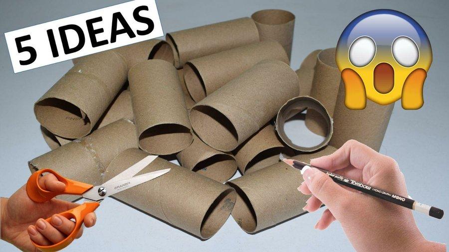 Recicla papel y cartn para decorar en casa II Manualidades