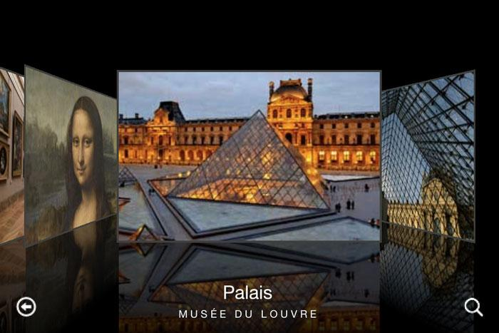 app virtual Museo louvre