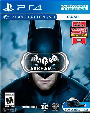 playstation batman arkham vr