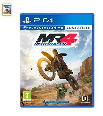 playstation vr juego moto race