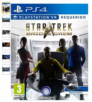 playstation vr juego star trek