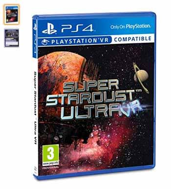 playstation vr juego super stardust ultra