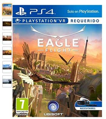 playstation vr juego eagle flight