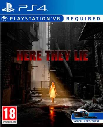 playstation vr juego here they lie