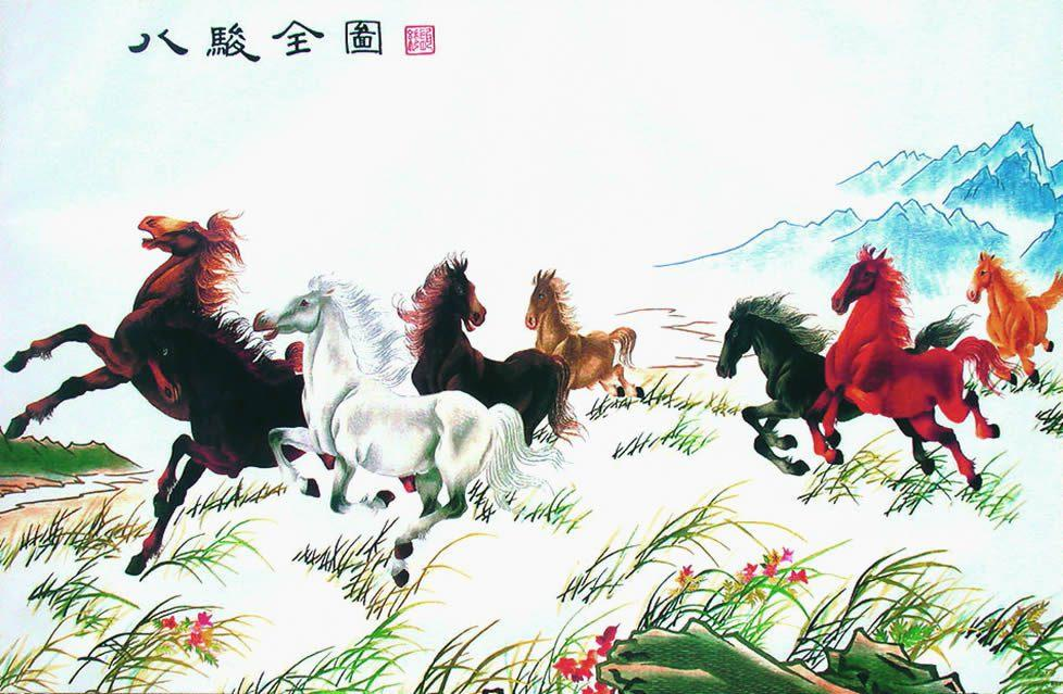 the_eight_horses_xu_beihong
