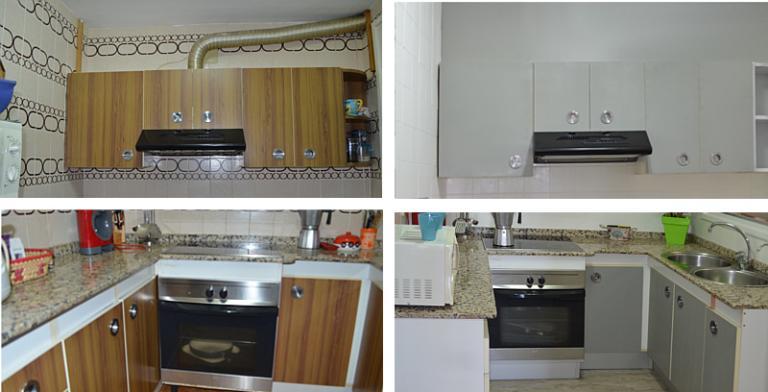 pintar muebles cocina formica | facilisimo.com - Pintar Muebles Cocina